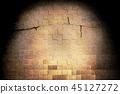 背景 砖头 砖墙 45127272