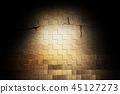 背景 砖头 砖墙 45127273