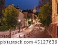 Montmartre in Paris, France 45127639