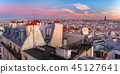 Sunrise in Paris, France 45127641