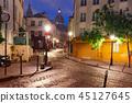 Montmartre in Paris, France 45127645