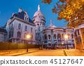 Montmartre in Paris, France 45127647