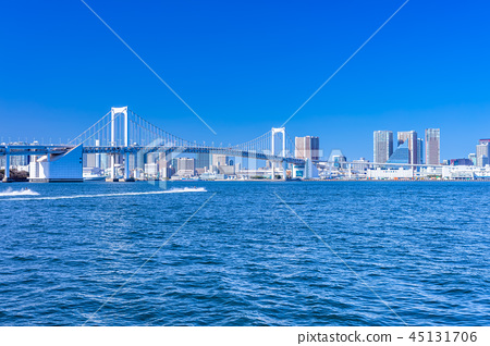 東京彩虹橋(來自Toyosu Gururi公園) 45131706