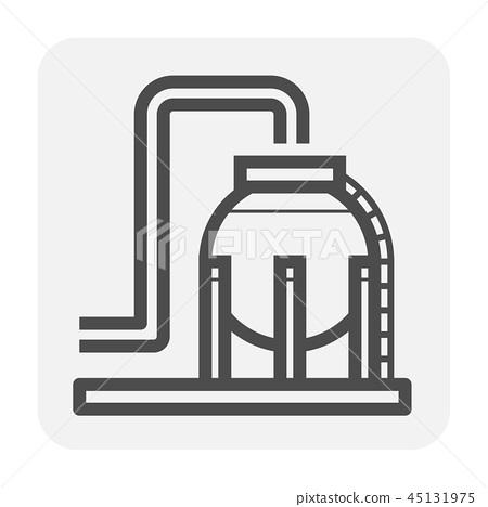 gas tank icon 45131975