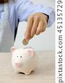 piggy bank female 45135729
