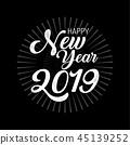 Happy New year 2019 ,Merry Christmas 45139252