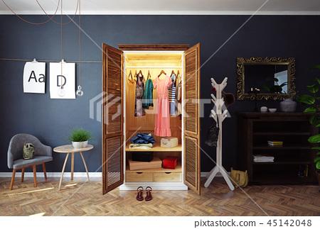 home open closet 45142048