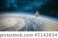 Astronaut in outer space  45142634