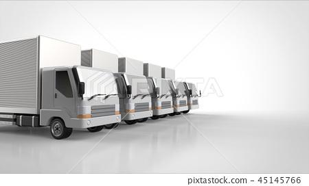 5 trucks left 45145766