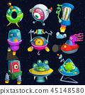 ufo spaceship alien 45148580