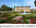 poland, palace, garden 45148862