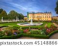poland, palace, garden 45148866