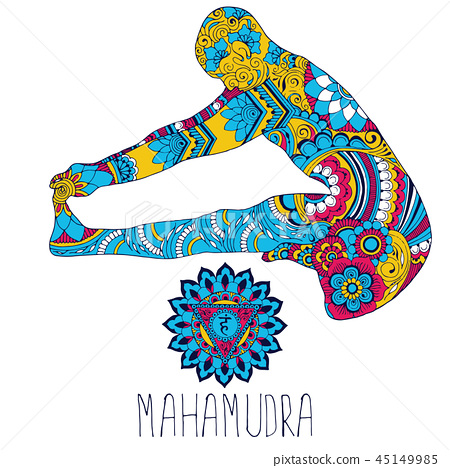 Mahamudra. Pose in yoga. 45149985