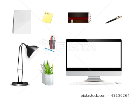 Series of Modern Digital devices Electronic vector 45150264