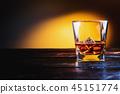 Whisky, whiskey or bourbon 45151774
