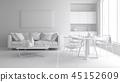 3d, floor, interior 45152609