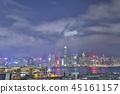 view of hong kong at roof garden 45161157