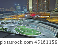 a plaza of the Kowloon railway station 45161159