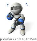 一个可爱的机器人,随意看着 45161548
