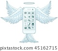 phone, mobile, vector 45162715