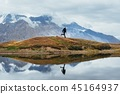 hiking,lake,photographer 45164937