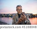 man person senior 45168048