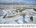 [View from Goryokaku Tower] 45169707