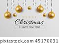 background, christmas, decoration 45170031