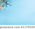 Christmas composition background 45170509