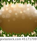 Fir Background Decoration 45171709