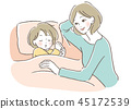 媽媽 父母和小孩 親子 45172539