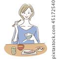 一個女人吃 45172540