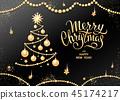 christmas, tree, text 45174217