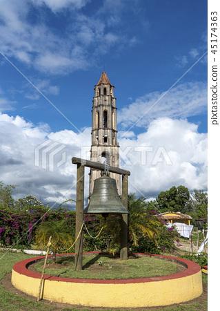 Manaca Iznaga Tower in Valley of Sugar Mills 45174363