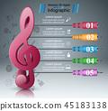 clef treble icon 45183138