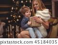 男孩 圣诞节 圣诞 45184035