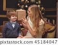 男孩 圣诞节 圣诞 45184047