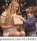 男孩 圣诞节 圣诞 45184061