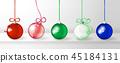 Christmas, balls, ball 45184131