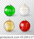 Christmas, balls, ball 45184137