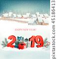 2019, christmas, gift 45186413
