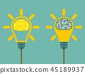 brain bulb light 45189937