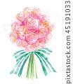 水彩花束 45191033