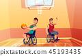 basketball vector ball 45193435
