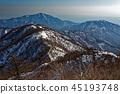 堆 許多 山峰 45193748