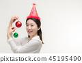 크리스마스, 성탄절, 년 45195490