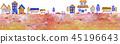 城镇 市容 城市景观 45196643