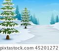 冬天 冬 卡通 45201272