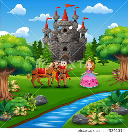 princess and prince couple in the castle page 45201314