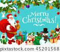 merry, christmas, santa 45201568
